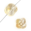 Fire polished Twisted Cut 16mm Crystal Celsian Half Coat